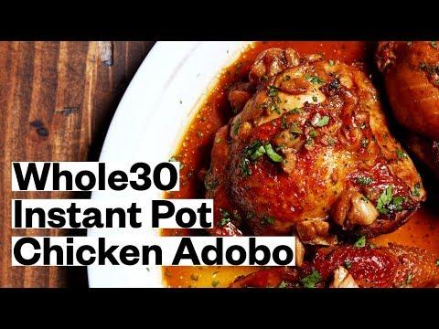 WHOLE30® Instant Pot Chicken Adobo (Keto, Paleo) | Thrive Market