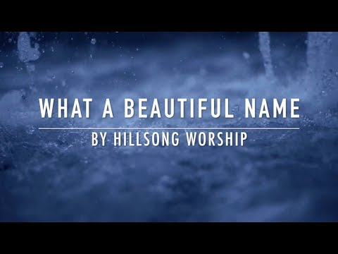 What A Beautiful Name (Backing Track) by Hillsong Worship
