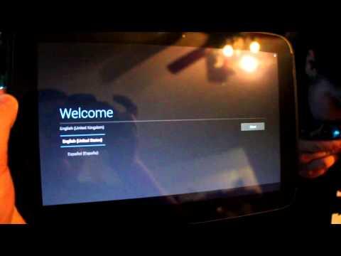 Unboxing Google Nexus 10