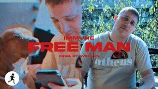 IMMUNE - FREE MAN (prod. Eversor) | Raps On The Run #3