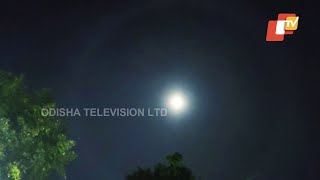 Lunar Halo Spotted In Bhubaneswar Sky-Scientist Explains Reason Behind The Phenomenon