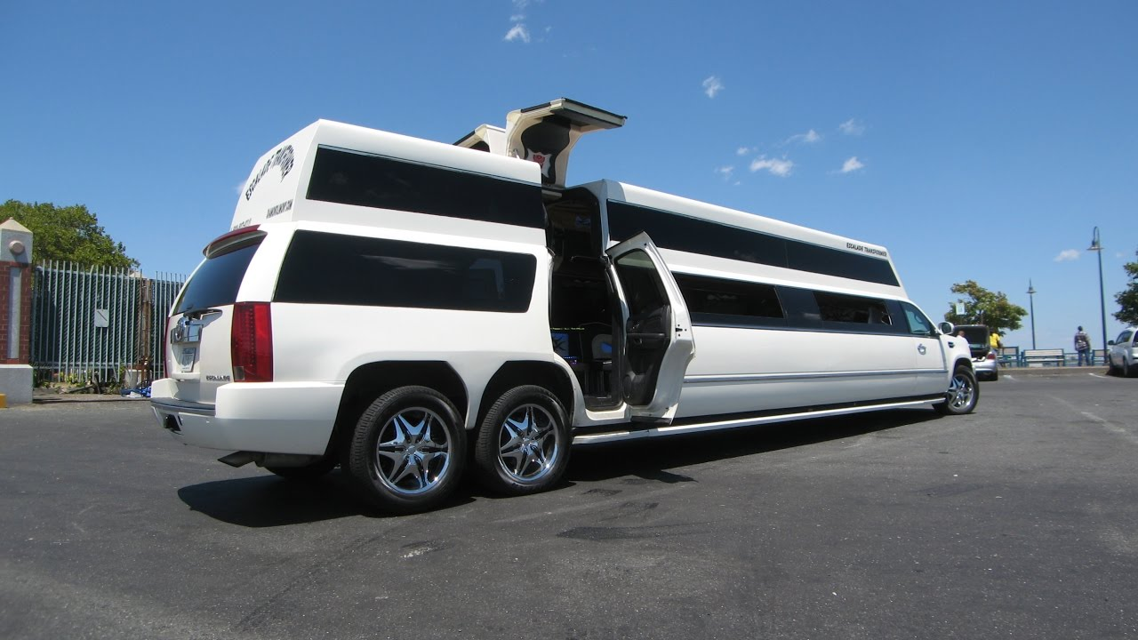 WOW! BEAST Escalade Transformer Limo in 2018 - YouTube