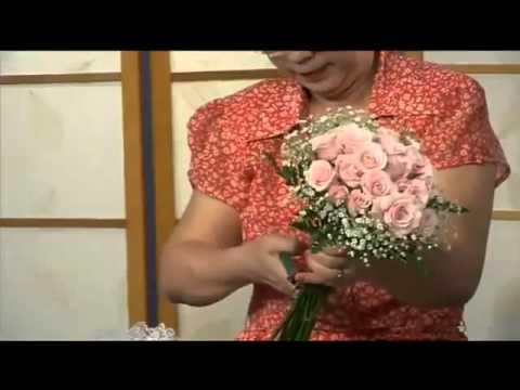 Hướng dẫn bó hoa cưới - Hoa Sài Gòn Online sưu tầm