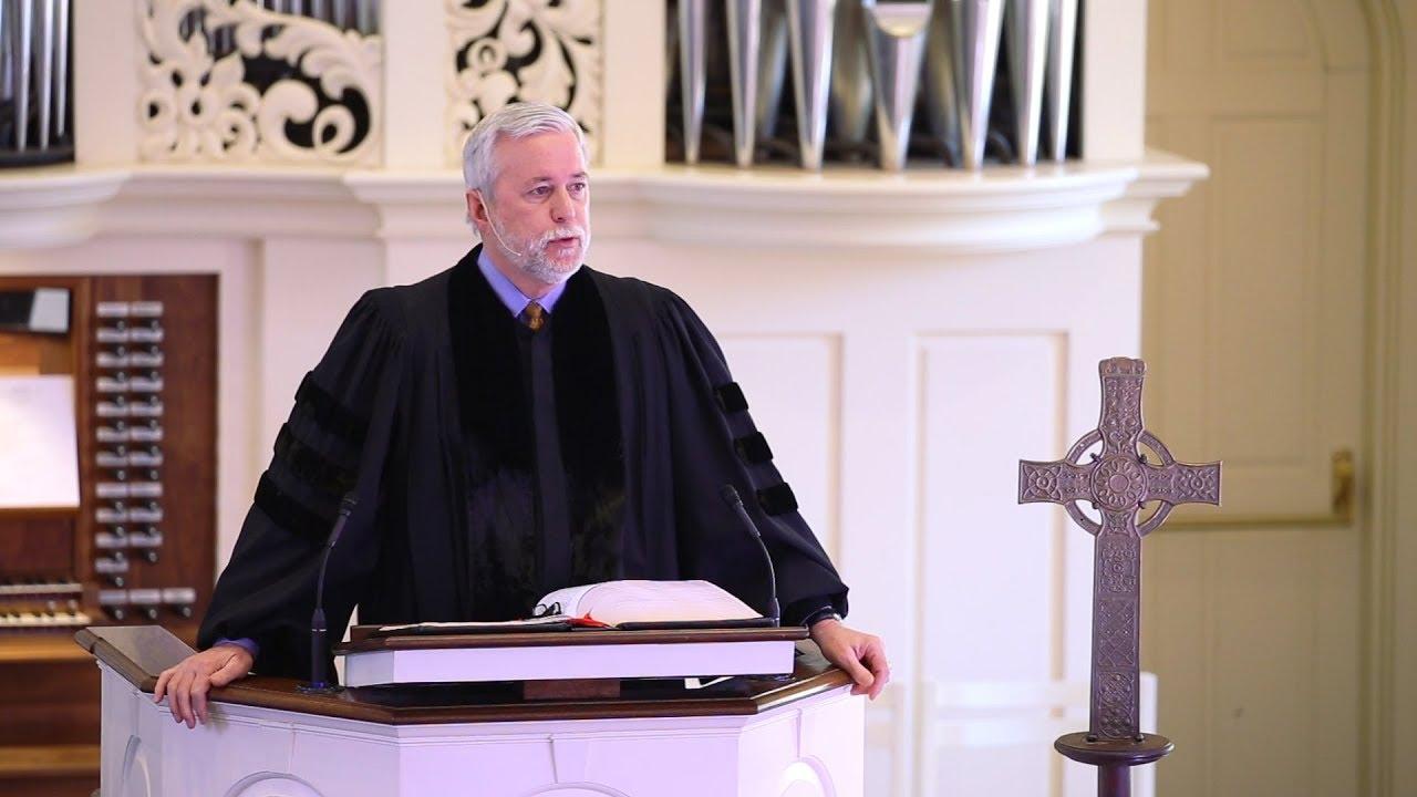 President Barnes preaches on Ephesians 1:1-14 - YouTube