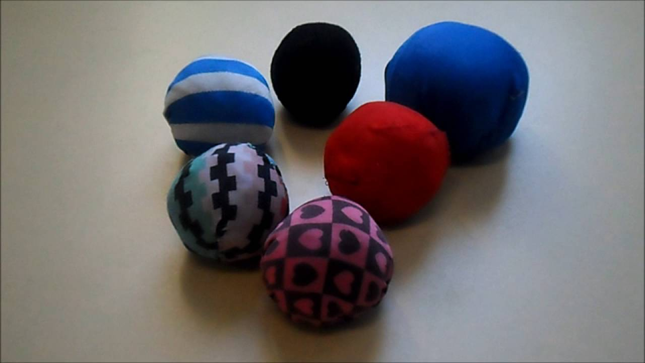 Pelotas de trapo youtube - Como hacer bolas para decorar ...