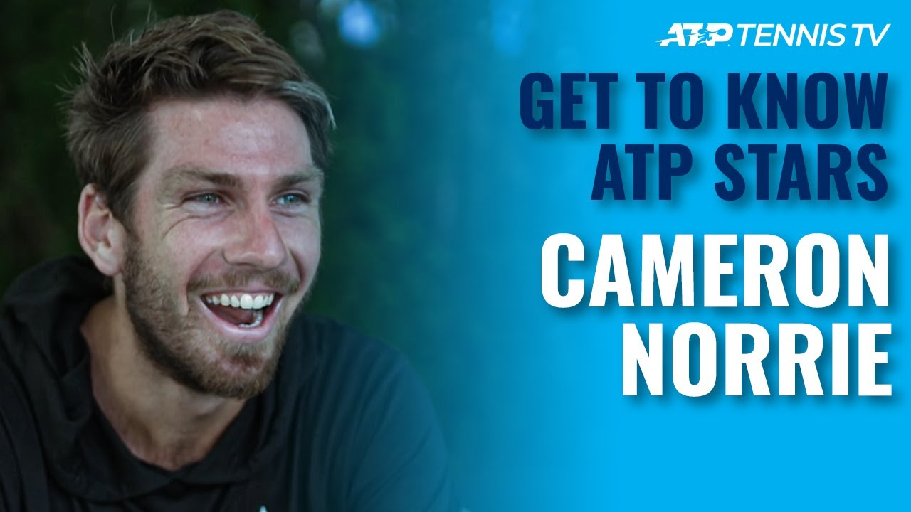Getting To Know ATP Tennis Stars: Cameron Norrie