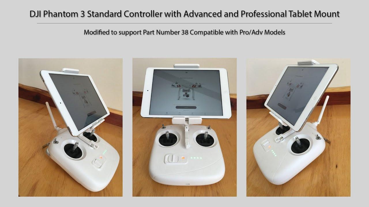 Dji Phantom 3 Standard with Professional/Advanced Tablet Mount