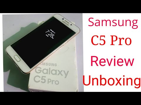Samsung C5 pro Unboxing & Hands on Full Review Excellent  Camera Phone 2017 Full Hd Hindi/Urdu 