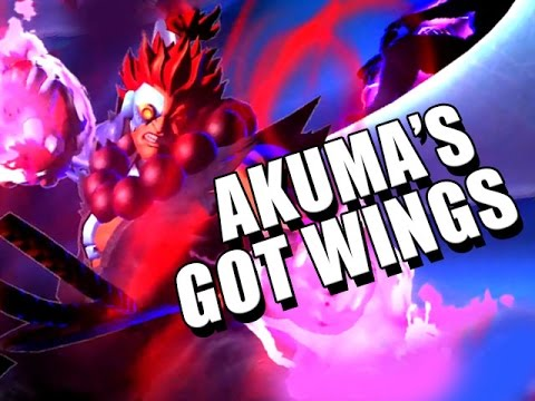 AKUMA'S GOT WINGS - Ultimate Marvel Vs. Capcom 3 w/Maxmilian