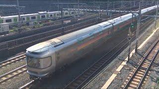 【かしおぺあ】EF81形牽引 カシオペア紀行(回送)@日暮里駅(トレインミュージアム) 上野駅に向うカシオペア紀行の回送。警笛と手振りのサービスつき!