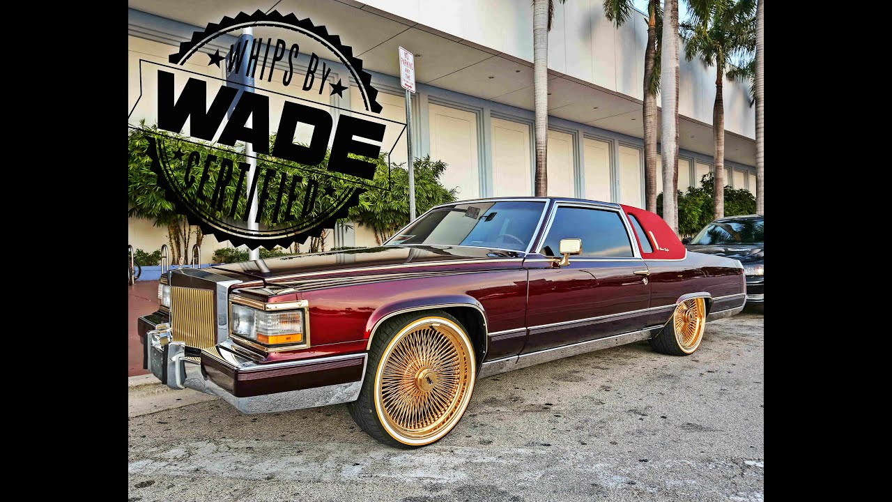 "Forgiato Fest 2k15: Candy Coupe Deville on 22"" Gold Spokes ..."