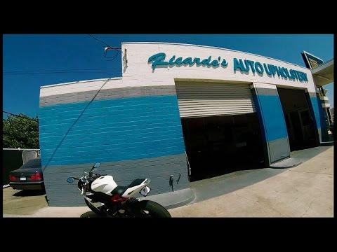 Triumph Daytona R Seat Shave