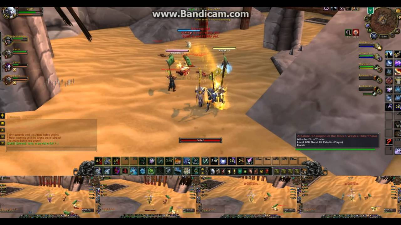 Download WoW 5v5 Arenas 5 Multibox Hunters 6.2.4