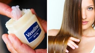 How To Use Vaseline To Make Hair Grow Fast And Other Health And Beauty Habits