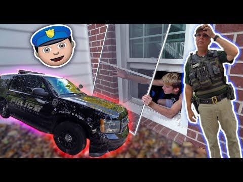 I WAS HOME ALONE AND HAD TO SNEAK OUT... *COPS CAME*