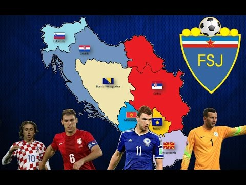 Yugoslavia's National Football Team if the country still existed | EURO 2016