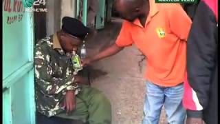 Intoxicated AP Officer Draws Crowds In Nakuru