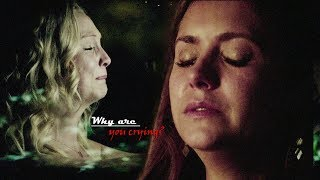 Елена & Деймон, Кэролайн & Стефан ►Почему ты плачешь?