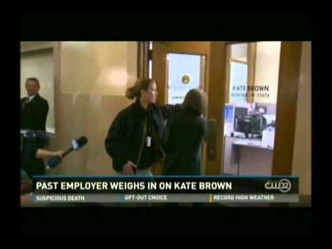 Albert Menashe comments on new Oregon Governor Kate Brown