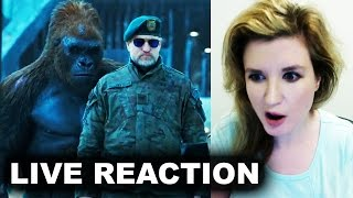 War for the Planet of the Apes Trailer 2 REACTION