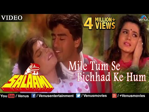 Mile Tum Se Bichhad Ke Hum Full Video Song | Salaami | Ayub Khan, Samyukta | Bollywood Romantic Song