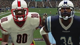 ALL PRO FOOTBALL 2K8 SEASON MODE WEEK 4 - EARL CAMPBELL AND JERRY RICE GO HARD