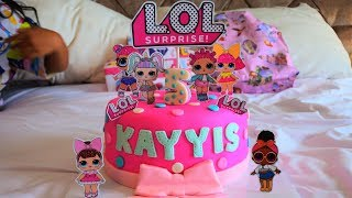 Selamat ulang tahun Kayyis yang ke 5 - Happy Birthday Kayyis