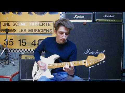 Fender Stratocaster Jimi Hendrix Signature