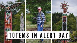 ALERT BAY, BC | Visiting the World's Tallest Totem Pole on Cormorant Island