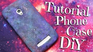 Diy Galaxy Phone Case Tutorial