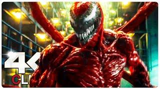 Venom Vs Carnage - Fight Scene | VENOM 2 LET THERE BE CARNAGE (NEW 2021) Movie CLIP 4K