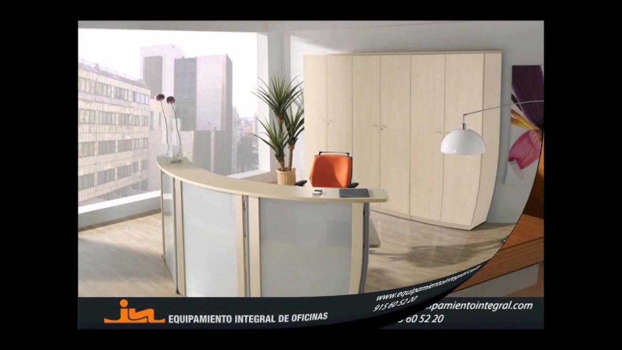 Recepciones de oficina equipamiento integral de oficinas for 8 6 mobiliario de oficina