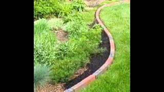 Brick Garden Edging Ideas