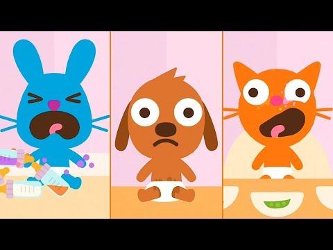 Малыши саго мини - Ухаживаем и веселимся в игре для малышей