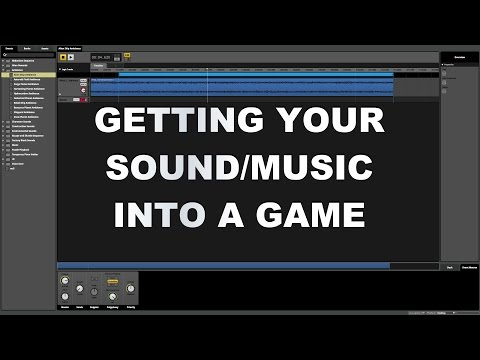 Video Game Sound Design Tutorial - Getting your Sound and Music Into the Game