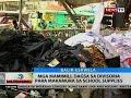 BT: Mga mamimili dagsa sa Divisoria para makamura sa school supplies