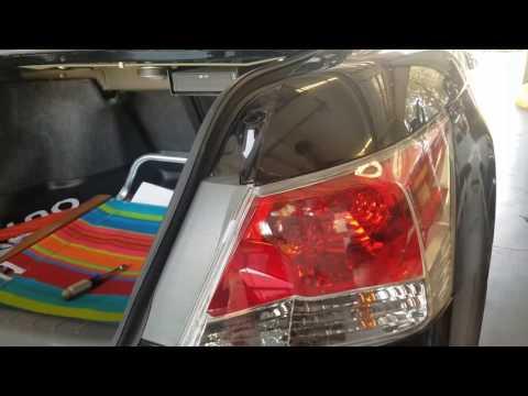 DIY 2009 Honda accord tail light bulb replacement. EASY!