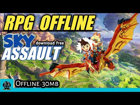 Download RPG Offline Sky Assault 3D Flight Action Mod Android 2019