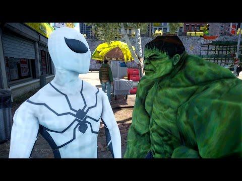 Spiderman VS Hulk -  Future Foundation Spider-man