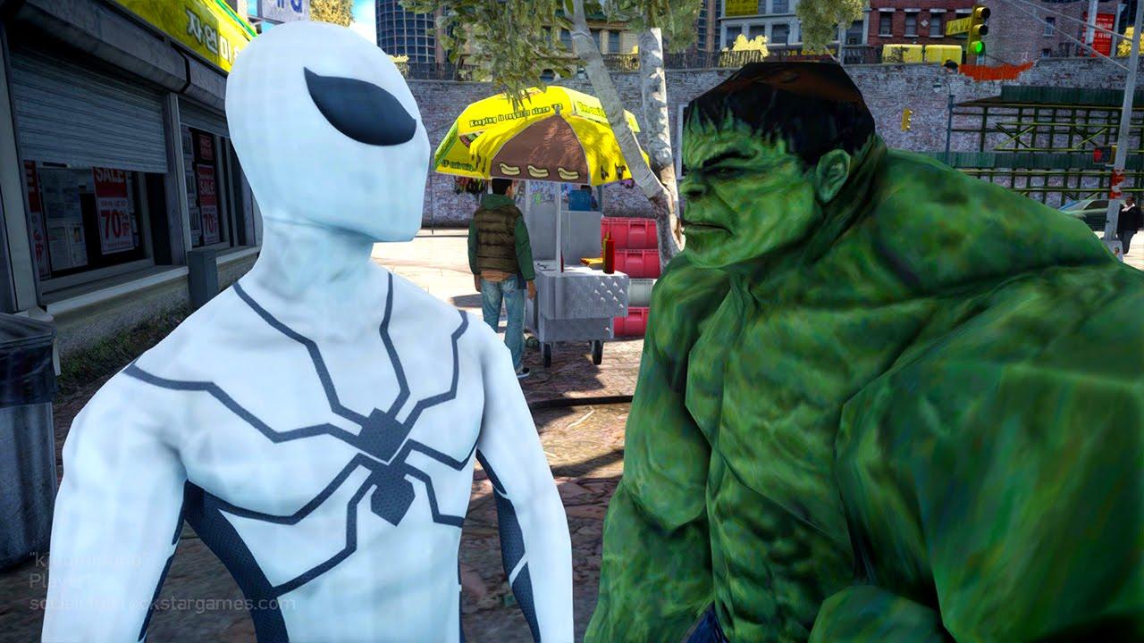 Spiderman VS Hulk - Future Foundation Spider-man - YouTube