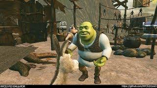 RPCS3 PS3 Emulator - Shrek Forever After Ingame! VULKAN (726ec274) LLVM