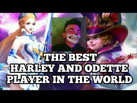 THE BEST HARLEY AND ODETTE PLAYER IN THE WORLD | MAGE SUPER GENIUS OBS|PAKBET | MOBILE LEGENDS