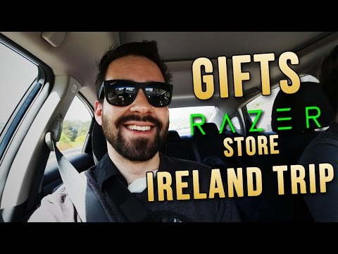 Gifts, RΛZΞR Store, & Ireland Trip! (Recovery Vlog Ep2)