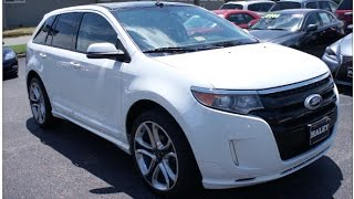 2013 Ford Edge Sport Walkaround, Start up, Tour and Overview
