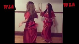 فرقة رقص قبائلي  تبدع  برقصها