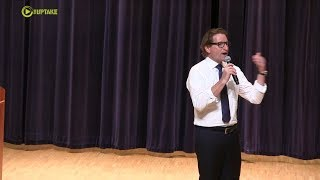 Phillips Hosts First Town Hall To Standing Room Only Crowd