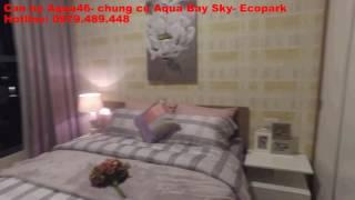 Căn hộ 46m2 chung cư Aqua Bay Sky Residences- Ecopark