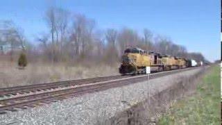 CSX Westbound in Indiana 3/26/16