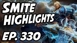 Smite Daily Highlights | Ep. 330 | Makarimorph, jeffhindla, TheAdapting, Incon, HiRezTV