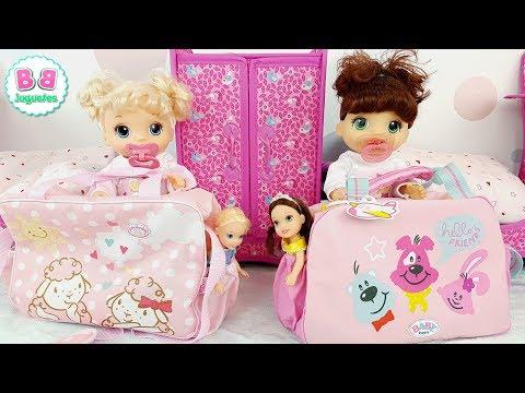 Baby Alive 2 Bolsos pañalera para BEA y ELI de BB Juguetes